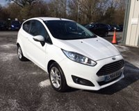 USED 2015 64 FORD FIESTA 1.25 ZETEC 3d THIS VEHICLE IS AT SITE 2 - TO VIEW CALL US ON 01903 323333