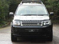 USED 2012 62 LAND ROVER FREELANDER 2.2 TD4 GS 5d 150 BHP MET BLACK/BLACK LEATHER A/C ONLY 45K