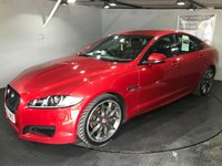 USED 2015 65 JAGUAR XF 2.2 D R-SPORT BLACK 4d AUTO 200 BHP Full service history,  Full leather upholstery,  Heated front screen,  Electric/Heated front seats,  Bluetooth,  Satellite navigation,  Paddleshift controls,  Reversing camera and sensors