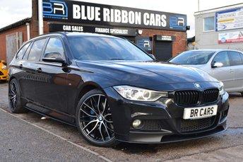 2014 BMW 3 SERIES 2.0 320D M SPORT TOURING 5d AUTO 181 BHP £17990.00