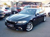 USED 2012 61 BMW 5 SERIES 2.0 520D M SPORT 181 BHP