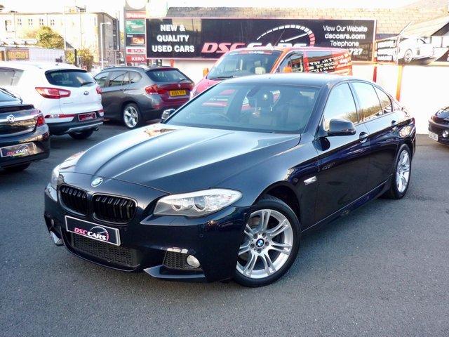 2012 61 BMW 5 SERIES 2.0 520D M SPORT 181 BHP