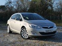 USED 2010 10 VAUXHALL ASTRA 1.6 SE 5d AUTO 113 BHP