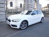 2015 BMW 1 SERIES 1.5 116D SPORT 5d 114 BHP £12995.00