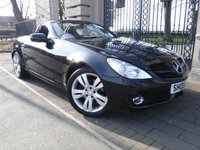 USED 2009 09 MERCEDES-BENZ SLK 1.8 SLK200 KOMPRESSOR 2d AUTO 184 BHP *** FINANCE & PART EXCHANGE WELCOME *** ELECTRIC ROOF FULL BLACK LEATHER HEATED SEATS BLUETOOTH PHONE  AIR/CON CRUISE CONTROL