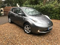 2014 NISSAN LEAF  ACENTA 5d 109 BHP £8989.00