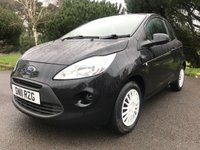 USED 2011 11 FORD KA 1.2 EDGE 3d 69 BHP LOW MILES CHEAP TO RUN