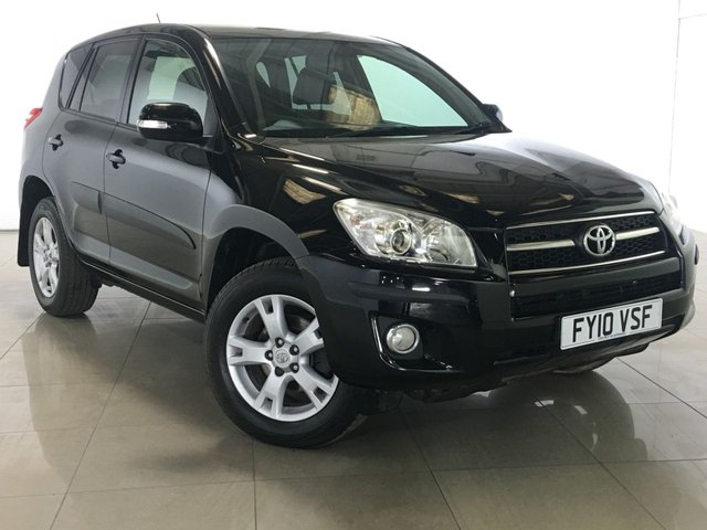 View our 2010 10 TOYOTA RAV4 2.2 XT-R D-4D 5d 148 BHP