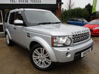 2010 LAND ROVER DISCOVERY 3.0 4 TDV6 HSE 5d AUTO 245 BHP £15250.00