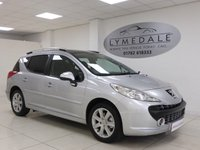 USED 2008 08 PEUGEOT 207 1.6 SW SPORT 90 5d 89 BHP Well Above Average Condition With Pan Roof