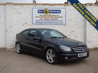 USED 2008 58 MERCEDES-BENZ CLC CLASS 1.8 CLC180 KOMPRESSOR SPORT 3d 143 BHP Service History Leather + Sensors 0% Deposit Finance Available
