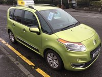 USED 2011 11 CITROEN C3 PICASSO 1.6 PICASSO EXCLUSIVE HDI 5d 90 BHP OUR  PRICE INCLUDES A 6 MONTH AA WARRANTY DEALER CARE EXTENDED GUARANTEE, 1 YEARS MOT AND A OIL & FILTERS SERVICE. 6 MONTHS FREE BREAKDOWN COVER.    CALL US NOW FOR MORE INFORMATION OR TO BOOK A TEST DRIVE ON 01315387070 !!