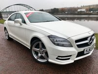 2013 MERCEDES-BENZ CLS CLASS 2.1 CLS250 CDI BLUEEFFICIENCY AMG SPORT 4d AUTO 204 BHP £17990.00