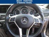 USED 2013 13 MERCEDES-BENZ E CLASS 2.1 E220 CDI BLUEEFFICIENCY S/S SPORT 4d AUTO 170 BHP MERCEDES-BENZ SERVICE HISTORY