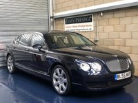 USED 2006 55 BENTLEY CONTINENTAL FLYING SPUR 6.0 Flying Spur Saloon 4dr Petrol Automatic (495 g/km, 552 bhp) +FULL SERVICE+WARRANTY+FINANCE