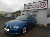 USED 2008 08 AUDI A3 1.6 MPI 3d 101 BHP £26 PER WEEK NO DEPOSIT, SEE FINANCE LINK BELOW