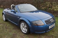 """2006 AUDI TT 1.8 ROADSTER 2d 148 BHP,ELECTRIC ROOF,CLIMATE,17""""ALLOYS,HISTORY  £3295.00"""