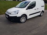 2014 CITROEN BERLINGO 1.6 625 ENTERPRISE L1 HDI AIR CON 3 SEATS BLUETOOTH NAV £5650.00