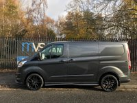 2014 FORD TRANSIT CUSTOM 2.2 270 LIMITED LR 125 BHP RS STYLING PACK GREY AIR CON HEATED SEATS £14995.00
