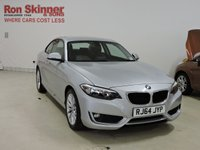 USED 2015 64 BMW 2 SERIES 2.0 218D SE 2d 141 BHP
