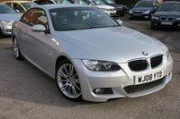 USED 2008 08 BMW 3 SERIES 2.0 320I M SPORT CONVERTIBLE AUTOMATIC + ONLY 35000 MILES !!!!