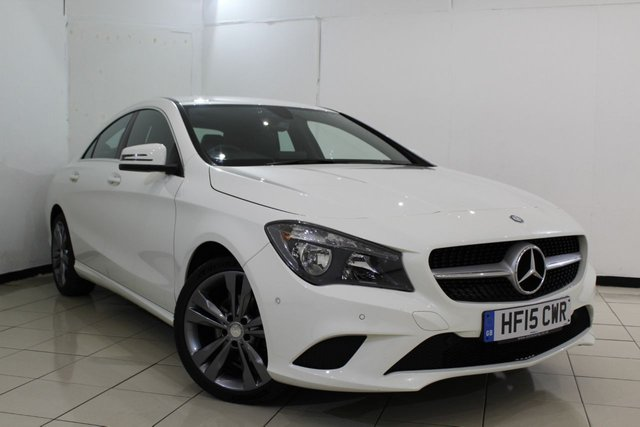 View our 2015 15 MERCEDES-BENZ CLA 2.1 CLA220 CDI SPORT 4DR AUTOMATIC 170 BHP