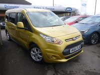 USED 2015 64 FORD GRAND TOURNEO CONNECT 1.6 TITANIUM TDCI 5d 114 BHP NEED FINANCE? WE STRIVE FOR 94% ACCEPTANCE