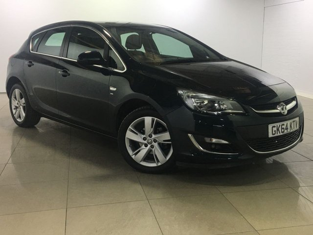 View our 2014 64 VAUXHALL ASTRA 1.6 SRI 5d AUTO 115 BHP