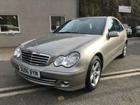 USED 2006 06 MERCEDES-BENZ C CLASS 1.8 C180 KOMPRESSOR AVANTGARDE SE 4d AUTO 141 BHP **STUNNING**VERY LOW MILEAGE**F.S.H**LADY OWNED**