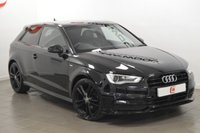 USED 2014 14 AUDI A3 2.0 TDI S LINE 3d 182 BHP PAN ROOF + NAV + LEATHER + LOW MILES