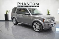 2010 LAND ROVER DISCOVERY 3.0 4 TDV6 XS 5d AUTO 245 BHP £16490.00