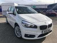 2015 BMW 2 SERIES 2.0 218D LUXURY ACTIVE TOURER 5d AUTO 148 BHP £14295.00