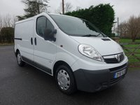 USED 2011 61 VAUXHALL VIVARO 2900 2.0 CDTI 90 BHP Direct From Leasing Company With Only 66000 Miles And Twin Side Loading Doors, Well Looked After Example!! Choice Of Three Available