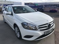 2014 MERCEDES-BENZ A CLASS 1.5 A180 CDI BLUEEFFICIENCY SE 5d AUTO 109 BHP £13495.00