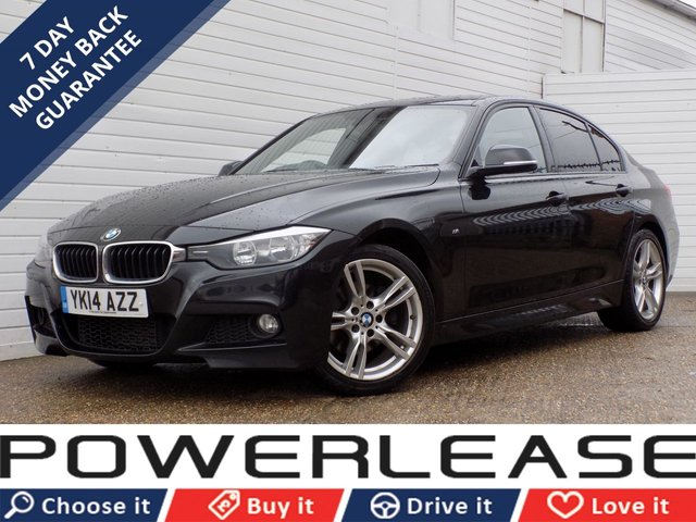 USED 2014 14 BMW 3 SERIES 2.0 320D M SPORT 4d 181 BHP DAB NAV HEATED SEATS P/SENSORS