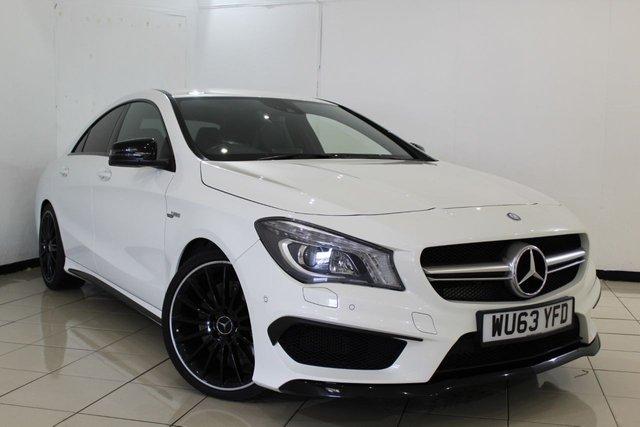 View our 2014 63 MERCEDES-BENZ CLA 2.0 CLA45 AMG 4MATIC 4DR 360 BHP