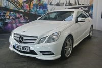 2012 MERCEDES-BENZ E CLASS 3.0 E350 CDI BLUEEFFICIENCY SPORT 2d AUTO 265 BHP £13994.00