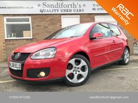 2008 VOLKSWAGEN GOLF 2.0 GTI 3d FULL HEATED LEATHER, ONLY 59K 5 SERVICES 1 OWNER £8490.00