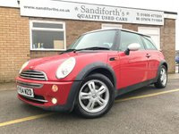 2004 MINI HATCH COOPER 1.6 COOPER 3d ONLY 92K 7 SERVICES 2 KEYS GREAT CAR £1790.00