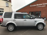 USED 2013 13 LAND ROVER DISCOVERY 3.0 4 SDV6 XS 5d AUTO 255 BHP Full leather upholstery, 7-Seater,    Electric driver and passenger seats,    Heated front seats,    Heated front screen,    Heated steering wheel,    Bluetooth,    Satellite Navigation,    Reversing camera and sensors