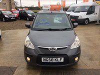 USED 2008 58 HYUNDAI I10 COMFORT 1.2 5 DOOR **2 OWNERS**7 SERVICE STAMPS**