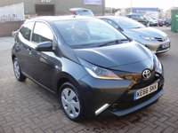 USED 2017 66 TOYOTA AYGO 1.0 VVT-I X-PLAY X-SHIFT 5d AUTO 69 BHP ANY PART EXCHANGE WELCOME, COUNTRY WIDE DELIVERY ARRANGED, HUGE SPEC