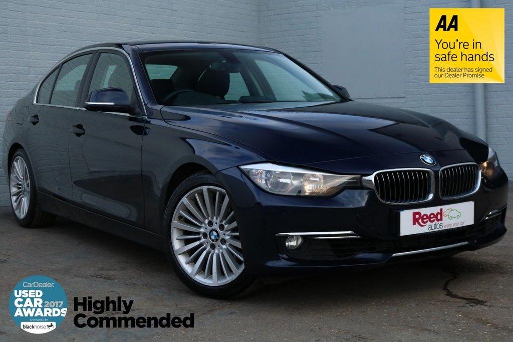 2014 63 BMW 3 SERIES 2.0 325D LUXURY 4d AUTO 215 BHP