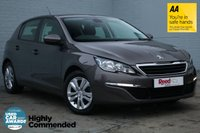 USED 2014 64 PEUGEOT 308 1.6 E-HDI ACTIVE 5d 114 BHP 1 OWNER+NAV+PARK ASSIST+CRUISE