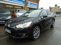 2013 CITROEN DS4 1.6 E-HDI AIRDREAM DSTYLE 5d 115 BHP £6994.00