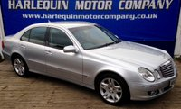 USED 2007 07 MERCEDES-BENZ E CLASS 3.0 E280 CDI ELEGANCE 4d AUTO 187 BHP 2007 MERCEDES E280 ELEGANCE TURBO DIESEL AUTOMATIC 4 DOORS IN METALLIC SILVER WITH FULL BLACK LEATHER CRUISE CONTROL MUST BE SEEN EXCEPTIONAL