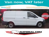 2016 MERCEDES-BENZ VITO 1.6 109 CDI LONG WHEEL BASE (ONE OWNER FSH) £11990.00