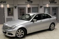 USED 2012 11 MERCEDES-BENZ C CLASS 1.8 C180 BLUEEFFICIENCY SE EDITION 125 4d 156 BHP FULL SERVICE HISTORY + COMAND SAT NAV + CRUISE CONTROL + BLUETOOTH + AIR CONDITIONING + 16 INCH ALLOYS