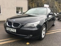 USED 2008 08 BMW 5 SERIES 2.0 520D SE TOURING 5d AUTO 175 BHP **STUNNING**F.S.H**LEATHER**ALLOYS**SAT NAV**