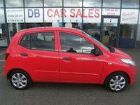 USED 2012 61 HYUNDAI I10 1.2 CLASSIC 5d 85 BHP £0 DEPOSIT, DRIVE AWAY TODAY!!
